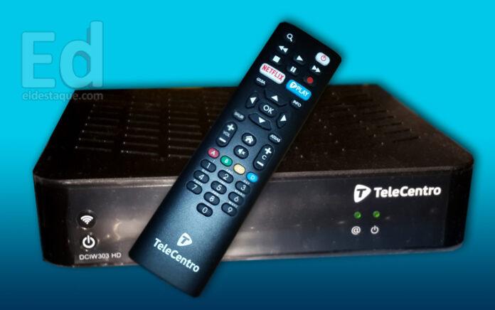 Todo sobre el decodificador Sagemcom HD de Telecentro | EL DESTAQUE