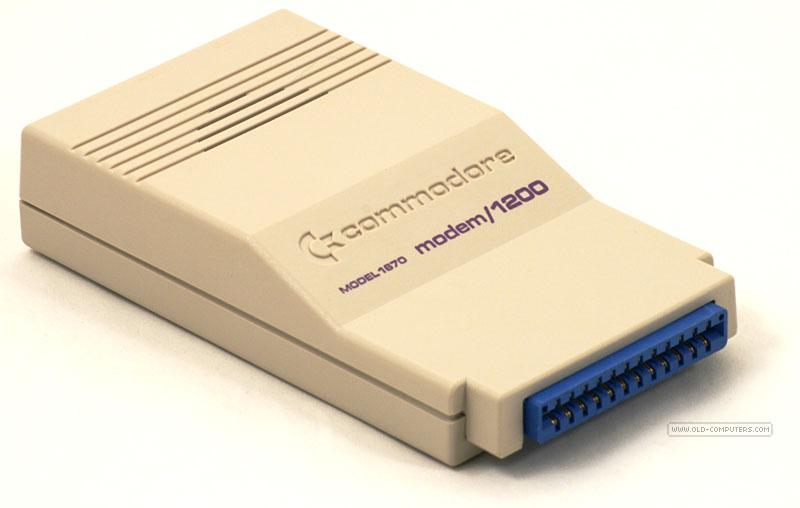 Modem de una Commodore de los ´80