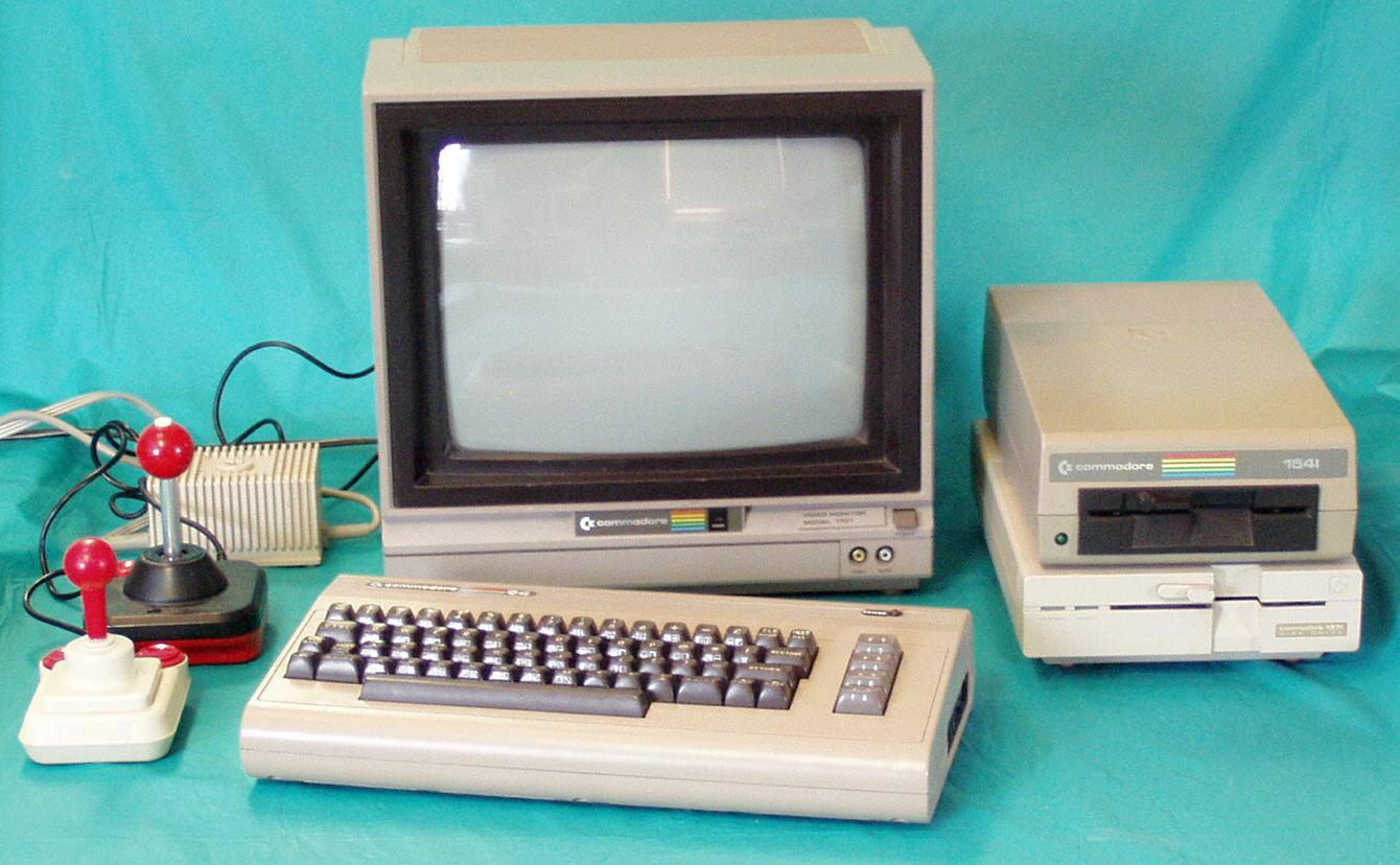 Un kit completo de Commodore 64. Foto: Giant Bomb