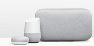 Google Home, Home Mini u Home Max.