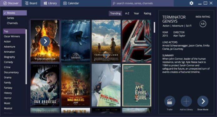 Captura de pantalla de Stremio. Foto: ComoInstalarLinux