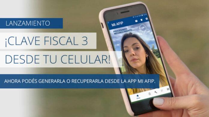 Obtener tu clave fiscal de AFIP con tu móvil.