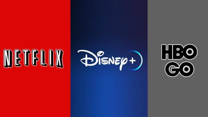 Netflix, Disney Plus y Hbo Go. Foto: Eldestaque.com