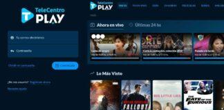 Acceder a Telecentro Play desde una PC. Foto: Web