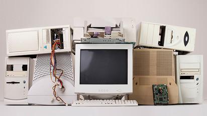 Computadoras retro. Foto: Pcmag