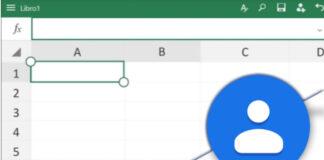 Captura de Excel y Contactos de Google. Foto: El Destaque