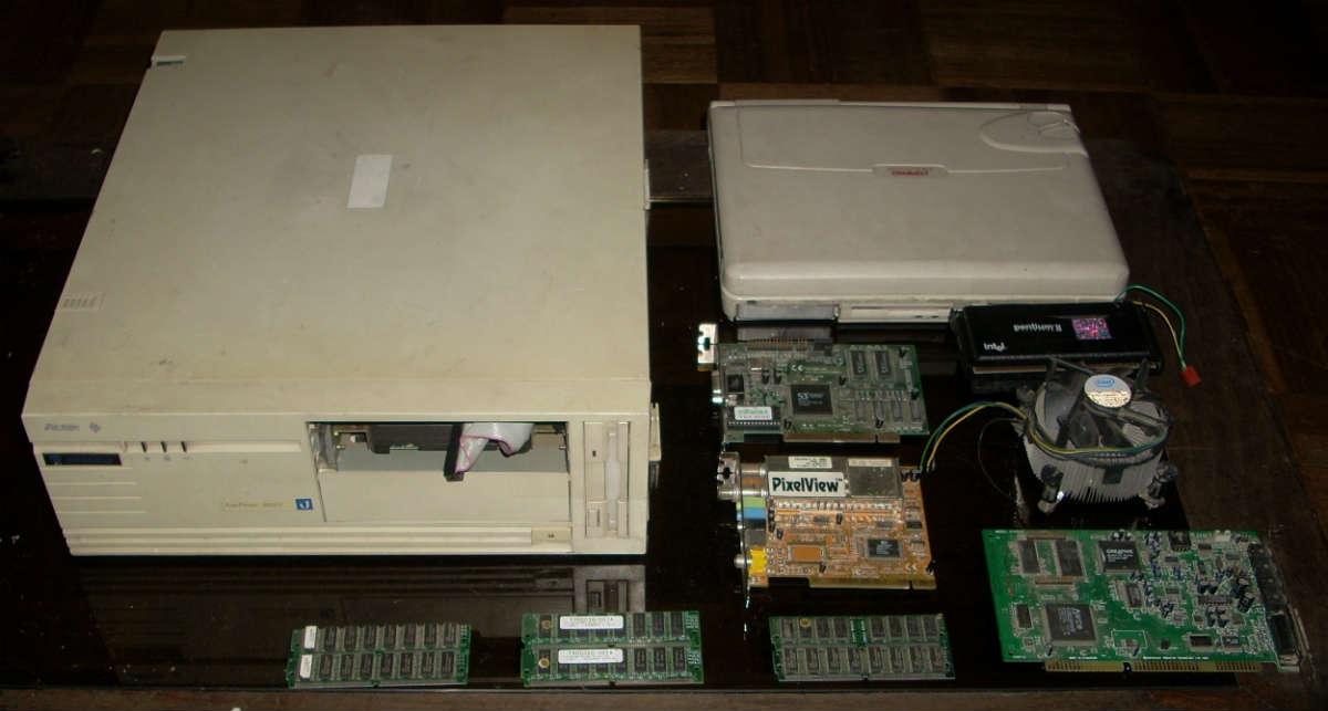 Computadora Acer 286. Foto: Vogons