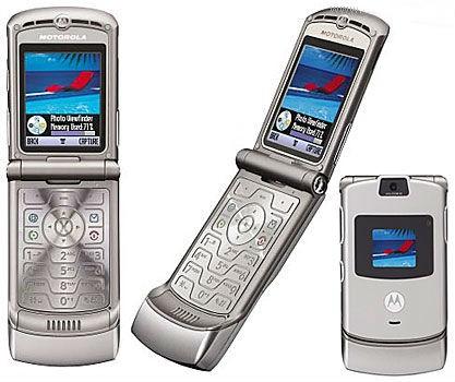 Motorola Razr V3. Foto: Gsmarena