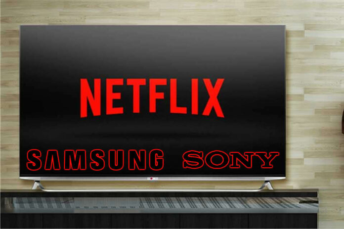 Netflix en televisores Samsung y Sony. Foto: EL DESTAQUE