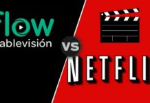 Diferencias entre Flow y Netflix. Foto: EL DESTAQUE