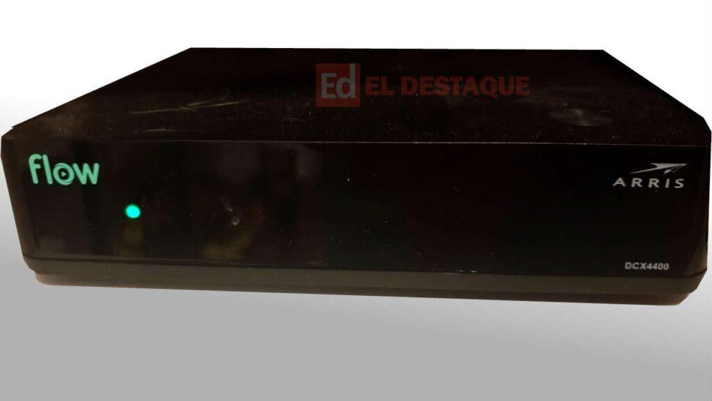 Decodificador Cablevisión Flow 4k (Arris DCX4400). Foto: EL DESTAQUE