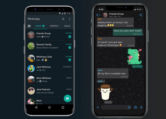 Modo Oscuro WhatsApp Android e iOS. Foto: Andro4all