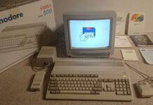 Commodore AMIGA 500. Foto: Legrenier