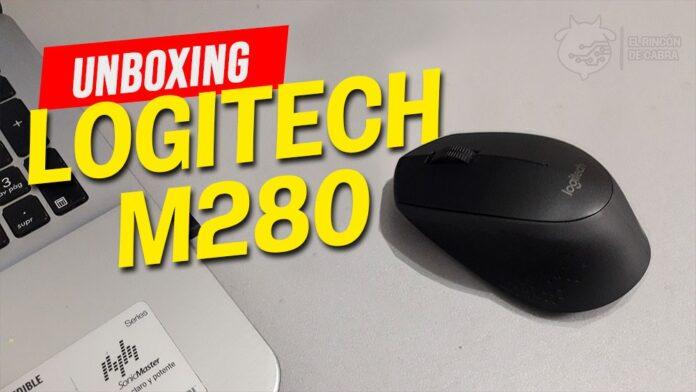 Mouse inalámbrico Logitech M280. Foto: El Rincón De Cabra