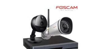 Cámaras IP y NVR de la marca Foscam.