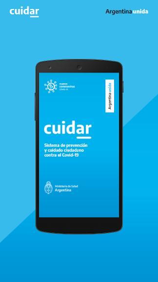 Aplicación CuidAR para circulación por COVID-19