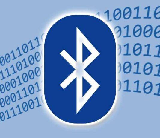 Logo de conexión Bluetooth.