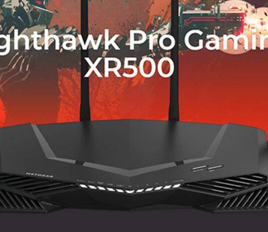 Netgear Nighthawk Pro Gaming XR500 Router WiFi para Juegos con Velocidad AC2600 de Doble Banda