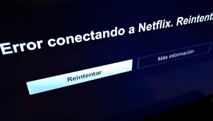 Netflix no funciona. Error conectando a Netflix.