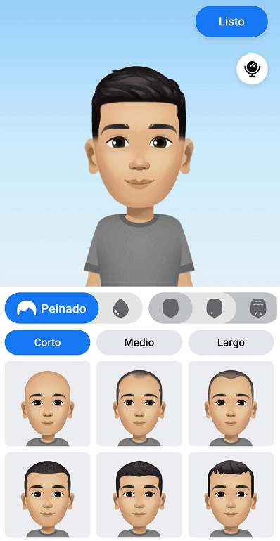 Facebook avatares. Crearlos desde la app.