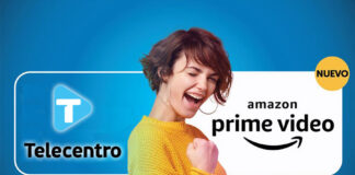 Telecentro y Amazon Prime Video. Foto: Telecentro