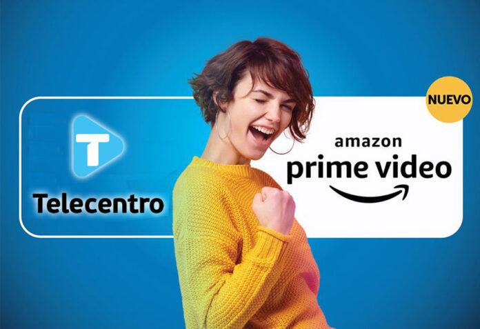 Telecentro y Amazon Prime Video. Foto: Telecentro