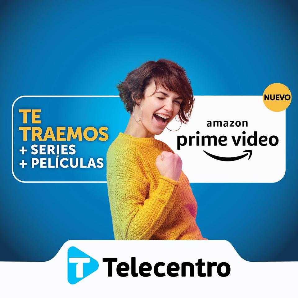 Amazon Prime Video desde Telecentro. Foto: Telecentro