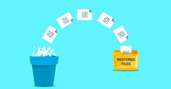 Recuperar archivos eliminados.