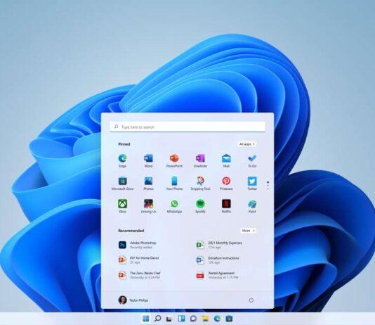 Windows 11 de Microsoft.