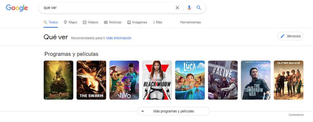 Que ver en Google. Foto: elrincondecabra.com