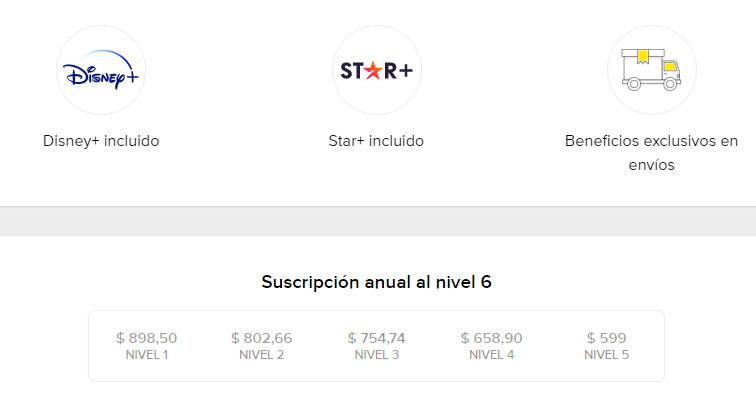 Star Plus en Mercado Libre.